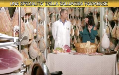 """""""Ricette all'italiana"""" e i salumi parmensi del Salumificio Orlandini"""